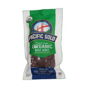 Pacific Gold Original Recipe Organic Beef Jerky 12 oz