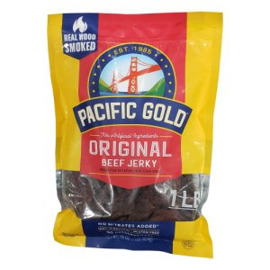 Pacific Gold Original Beef Jerky 1 Lb