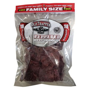 Old Trapper Peppered Beef Jerky 18 oz